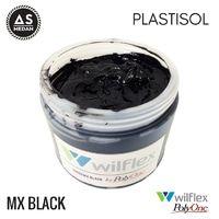 CAT PLASTISOL WILFLEX PolyOne - 19888MX BLACK 500GR