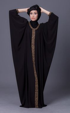 Atelier Pattama – World Class Fashion Brand Modest Fashion Hijab, Abaya Fashion, Mode Abaya, Mode Hijab, Fashion Drawing Dresses, Fashion Dresses, Caftan Dress, Kaftan, Kimono