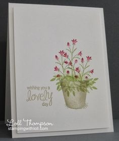 Pot of Spring Flowers