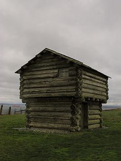 Log Blockhouse of Whidbey Island