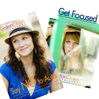 Say NO to Auto and Get Focused- indispensable photography e-books! From the fabulous Kristen Duke. Cant wait to read the second!