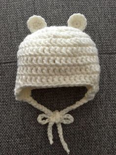 Baby Knitting Patterns Beanie Hello everyone, I& getting a January baby and it& probably very cold. Crochet Bebe, Crochet For Kids, Diy Crochet, Crochet Hats, Baby Knitting Patterns, Baby Patterns, Crochet Patterns, January Baby, Baby Dino