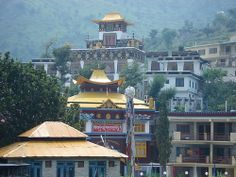 Dharamsala, India.  Home of the Tibetan Government in Exile, including His Holiness the 14th Dalai Lama.