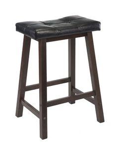 "94064 Mona 24"" Saddle seat stool   Walmart.ca"