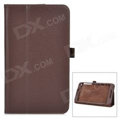 Protective PU Smart Case w/ Stand for ASUS Fonepad 8 / FE380CG - Brown Price: $7.17