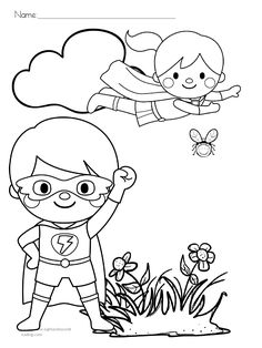 Super Heros, Coloring Pages For Kids, Snoopy, Paper, Crafts, Fictional Characters, Art, Doors, Superheroes