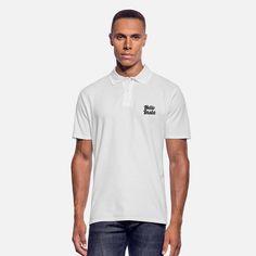 Bad vibes dont go with my outfit Camiseta polo hombre Tennis Shirts, Tennis Clothes, Sweat Shirt, Luigi, Doce Banana, Shirt Designs, Le Polo, Polo Shirt White, Cartoon Man
