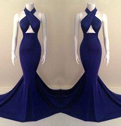 Alluring Halter Sleeveless Solid Color Criss-Cross Women's Dress