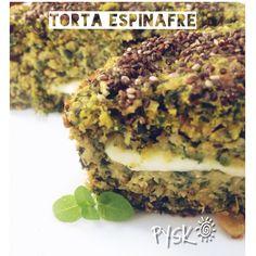 Torta de espinafre e queijo de búfala! Este prato faz parte do cardápio Pysk em sua casa! Quer uma cozinheira Funcional bem pertinho de vc? Aqui pode nos chamar que vamos correndo! Rs
