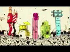 Deezer TV spot | Illustrator: McBess | Animation: CRCR