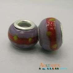 $1.39  Dullpurple Lampwork Murano Glass Beads Silver Core Fit Bracelet http://www.eozy.com/dullpurple-lampwork-murano-glass-beads-silver-core-fit-bracelet