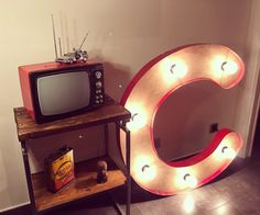 Lletra lluminosa/ letra luminosa/light letter Light Letter, Mirror, Instagram Posts, Furniture, Home Decor, Channel Letters, Decoration Home, Room Decor, Mirrors