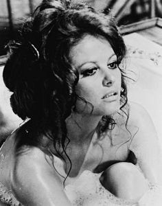 Famous Italians ~ CLAUDIA CARDINALE, one of the Divas of the Past.
