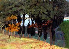 Felix Vallotton (Swiss 1865-1925) Les Pommes (1911)