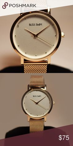 Women's Quartz Watch - Elegant diamond dial with mesh bracelet  - Material: Stainless steel Accessories Watches