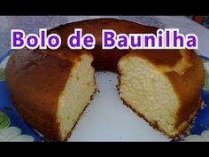 Bolo de Baunilha - YouTube