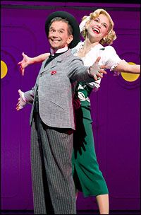 Sutton Foster and Joel Grey in Anything Goes