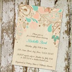 52 Creative DIY Bridal Shower Invitations Ideas  http://lovellywedding.com/2017/09/12/52-creative-diy-bridal-shower-invitations-ideas/