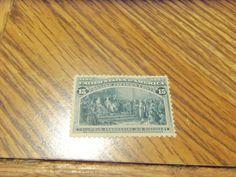 """SUPER AUCTION"" 1893 SCOTT #238 15 CT COLUMBIAN-MINT,OG, VF $365 RETAIL"