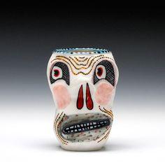 Schaller Gallery : Exhibition : Michael Corney : Skull Cup - Sky Scraper