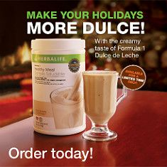 A Carmel and Sweet milk flavor!                        Get yours while supplies last! greathealthvanessa.herbalhub.com