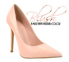 BLUSH  A-MUST-HAVE-NEUTRAL-COLOR!!! @ www.FABrebel.com #pumps #shoes #heels #classicpumps #powerpumps #powerheels #blush #neutral #nude #kimiko #trendy #spring2015 #inspiredlook #celebritystyle #stylishshoes #iloveshoes #shoeslover #shoediva #fashion #style #fashionfinds #fabrebel