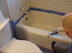 we may need to do this...Refinishing bathtub