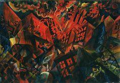 "George Grosz: ""Explosion"", 1917"