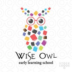Exclusive Customizable Logo For Sale: Wise Owl by eclipse42 | StockLogos.com