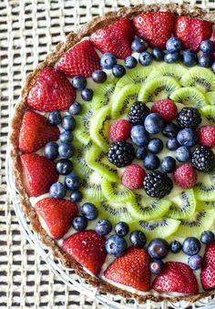 Tarta de Futas con Crema pastelera