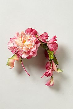 Blushing Dahlia Fascinator #anthropologie