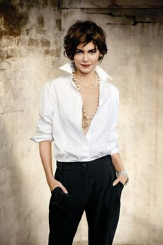 Audrey Tautou in Chanel