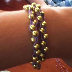 My homemade bracelet!