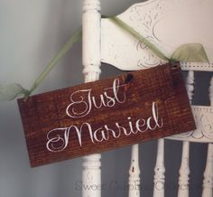WEDDING SIGNS Wedding Wooden Sign  Just by SweetNCCollective, $25.00