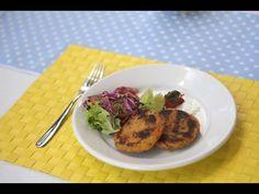 Hambúrguer de grão de bico | Vida & Saúde - YouTube