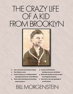 """Amazon.com """"The Crazy Life of a Kid From Brooklyn"""". All proceeds go to charity! (scheduled via http://www.tailwindapp.com?utm_source=pinterest&utm_medium=twpin&utm_content=post136167043&utm_campaign=scheduler_attribution)"""