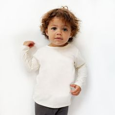 long sleeve tee organic cotton tee - wholesale clothing for your private label