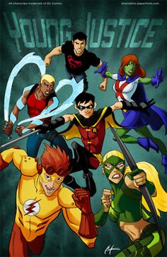 These are my Young Justice shorts. Short stories about the Young Justice characters. Young Justice League, Aqualad Young Justice, Kid Flash, Teen Titans, Cartoon Online, Cartoon Tv, Justice Shorts, Univers Dc, Crime