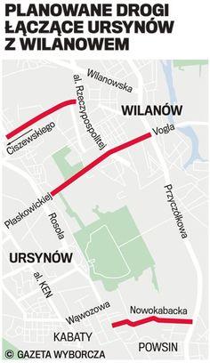 Wybudują pierwszą ulicę, która połączy Wilanów z Ursynowem