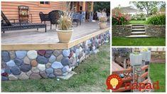 Škoda, že sme ich nevideli skôr: 24 perfektných nápadov, ako zakryť škaredý betón na záhrade – aj starý chodník teraz vyzerá skvele! Centerpieces, Patio, Outdoor Decor, Gardening, Home Decor, Center Pieces, Garten, Lawn And Garden, Terrace