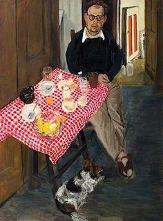 bofransson:  John Bratby (1928–1992) (early portrait) by Jean Cooke