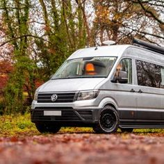 THE NWCC CRAFTER NUGGET CONVERSION - New Wave Custom Conversions Black Rhino Wheels, Foil Insulation, Vw Crafter, Camper Van Conversion Diy, Campervan Interior, Fresh Water Tank, Side Window, Roof Light, Van Life