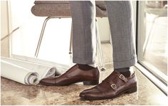 Choose monk straps.  Seriously, it'll speak volumes.  #DSW #mens #shoes