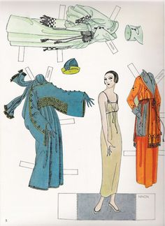 Erte Fashion dolls of the Twenties _ Susan Johnston - Dover Books