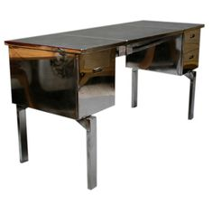 Folding Military Campaign Desk | From a unique collection of antique and modern desks and writing tables at http://www.1stdibs.com/furniture/tables/desks-writing-tables/