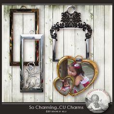 So Charming Charmscudigitals.com, cu, commercial, scrap, scrapbook, digital, graphics,#digitalscrapbooking #photoshop, #digiscrap