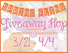 Mary's Cup of Tea - Spring Fling Giveaway http://www.mmbearcupoftea.com/2014/03/spring-fling-giveaway-hop.html