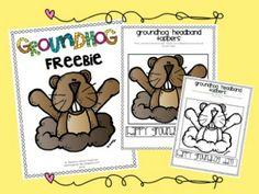 Teaching First: February Freebie Linky Party! *Groundhog Freebie