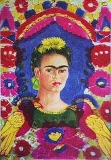 e7cf41d948b90   The Frame   by Frida Kahlo Latino Art Print