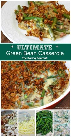 Green Bean Casserole Featured in magazines across the web and consistently rated THE best green bean casserole EVER! TeUltimate Green Bean Casserole Featured in magazines across the web and consistently rated THE best green bean casserole EVER! Greenbean Casserole Recipe, Casserole Recipes, Food Dishes, Side Dishes, Veggie Dishes, Best Green Bean Casserole, Green Bean Cassarole, The Best Green Beans, Vegetable Recipes